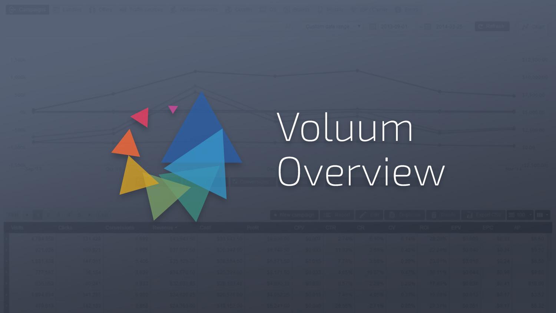 voluum guide 1