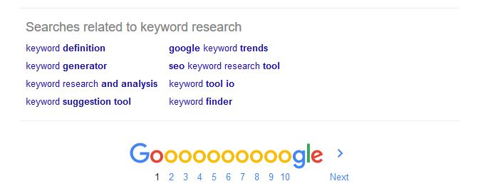 [Imagen: google-related-keywords.jpg]