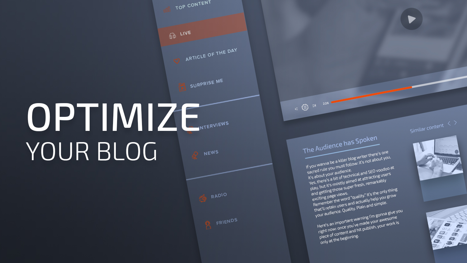 Image result for optimize blog