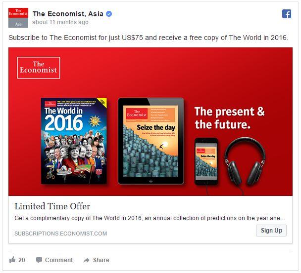 facebook ad economist