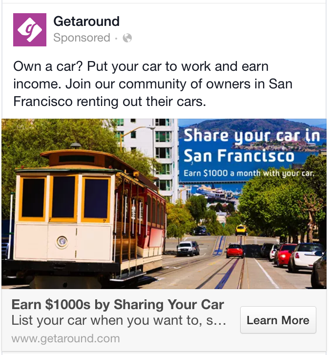 facebook ad clear headline